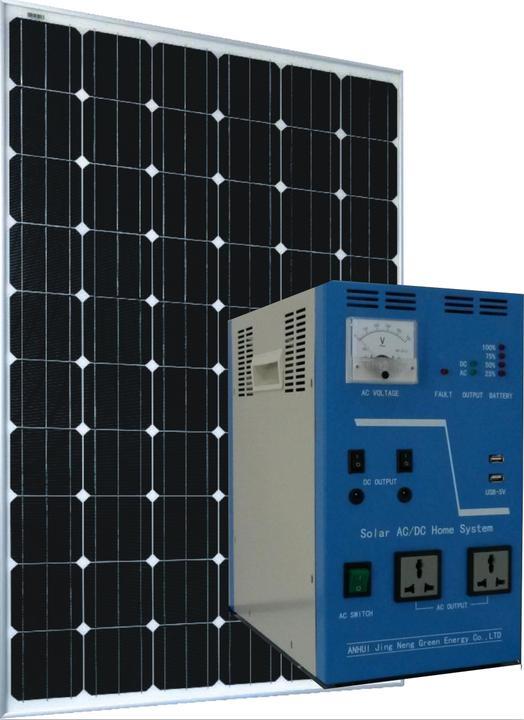 300w太阳能发电系统,野外宿营好帮手,船舶及缺电地区照明