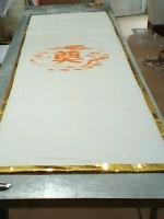 供应江西厂家生产殡仪馆专用寿毯非石棉耐火寿毯保温隔热寿毯