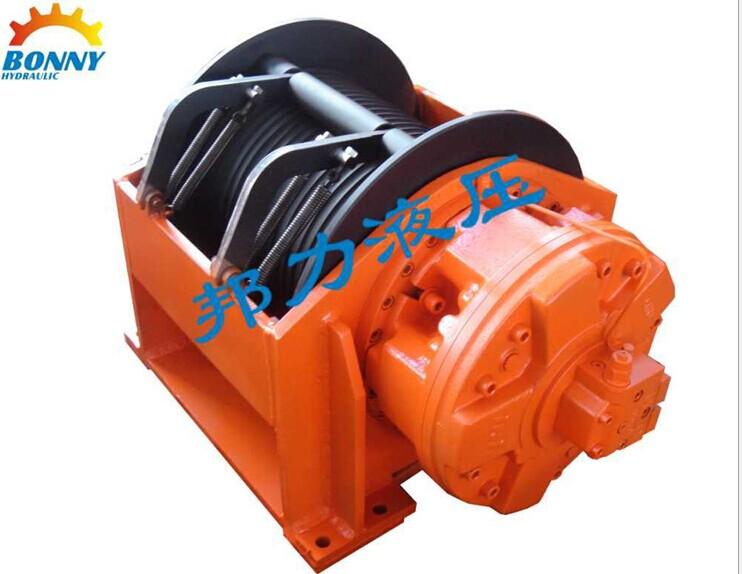 gw系列液压卷扬机绞车有带单向平衡阀及图片