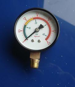 0-1MPA气压表0-0.2MPA压力表0-10kpa水柱表