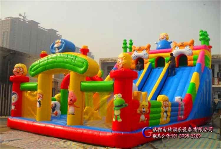 供应熊出没充气城堡充气滑梯淘气堡儿童游乐设备