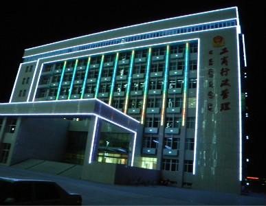 南宁楼体外墙景观灯LED亮化工程,南宁LED数码灯具LED亮化