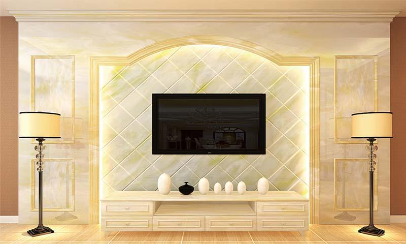 窗台各种简欧装饰 背景墙线条