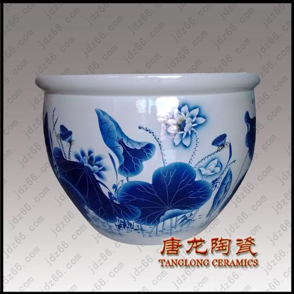 供应景德镇陶瓷大缸,大型陶瓷缸