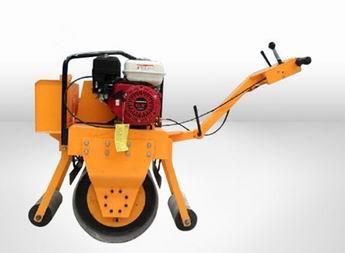 全国热销重型手扶式单钢轮振动压路机 大轮径单钢轮压路机 小型振动