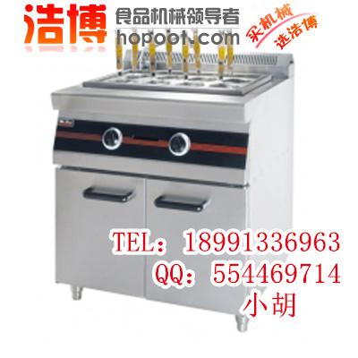燃气煮面炉配备注水开关和排水阀