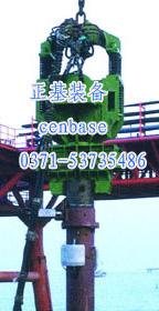弹簧振动锤|振动锤在全套管施工法中可完全替代套管钻机
