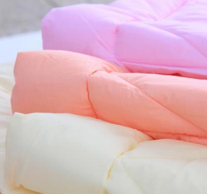 艺达家纺 特价T/C春秋柔丝被 单/双人 正品超细纤维填充保暖