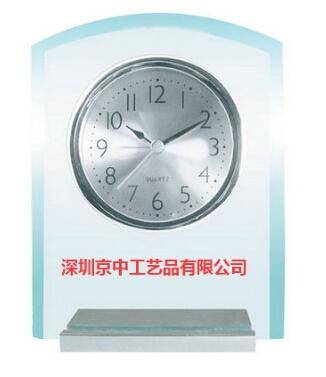 玻璃台钟 闹钟 工艺钟表摆件