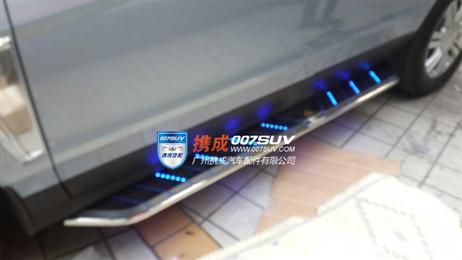 凯迪拉克SRX带灯踏板 前后护板 66公路套标