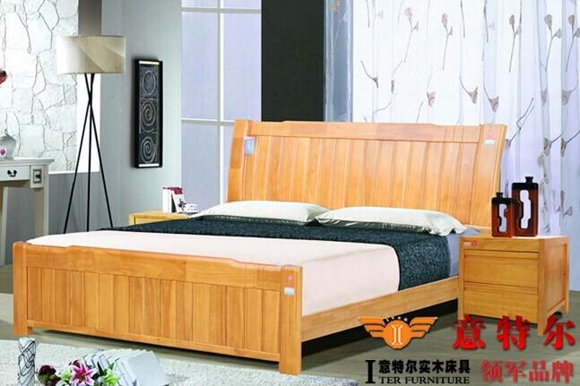 供应 橡木 实木床