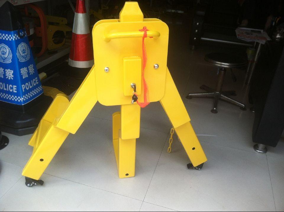 云南城管车轮锁 路政轮胎锁车器专用大车
