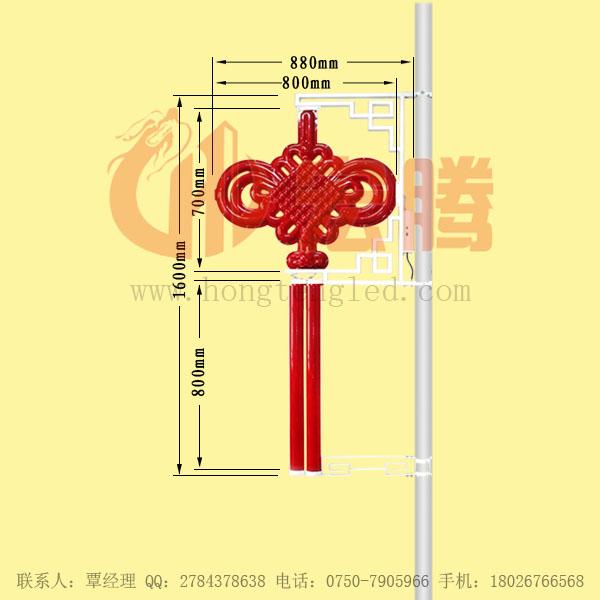 户外照明LED中国结路灯生产制造厂家