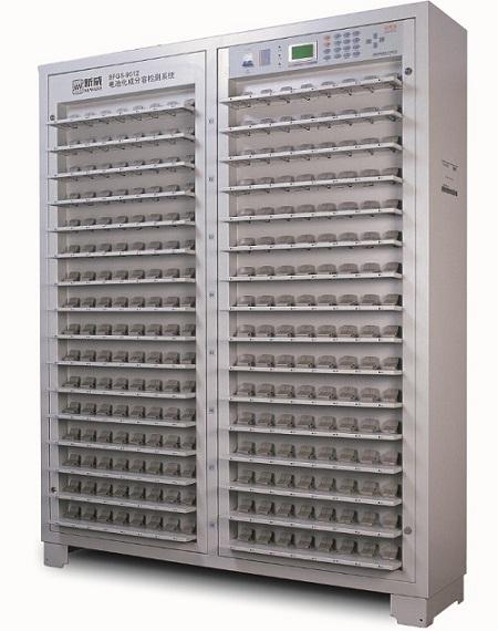 高精度高性能BFGS系列手机电池化成分容检测系统