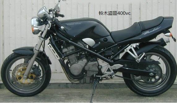 供应小排量明天铃木新款盗匪400vc摩托车