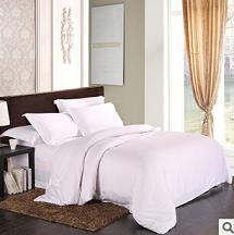欧式床上用品 全棉60贡缎长绒棉纯色四件套 厂家直销 可混批代发