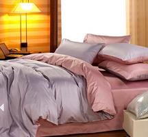 欧式简约 床上用品 高档全棉贡缎纯色四件套 厂家直销 可混批代发