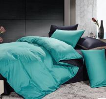 品牌家纺 批发团购全棉纯色贡缎四件套 欧式床上用品 特价代发