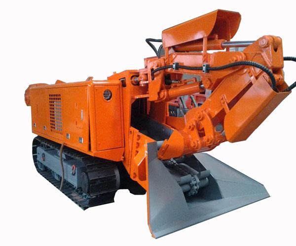 挖掘式装载机扒碴机山东鲁煤