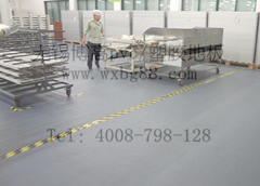 博高厂房车间耐磨耐压塑胶地板