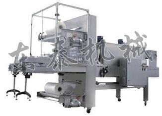 单瓶豆瓣酱套膜热收缩机 单瓶酱料套膜包膜机