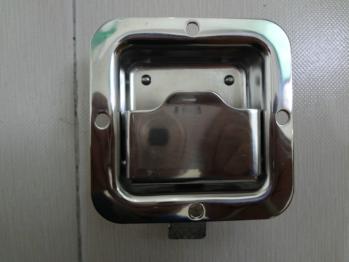 小工具箱盒锁不锈钢盒锁83*83不带锁芯
