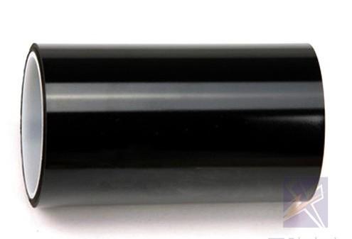 黑色聚酰亚胺胶带 黑色PI电子胶带