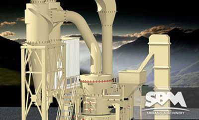 超细磨是硅灰石作为涂料增加剂前的加工设备