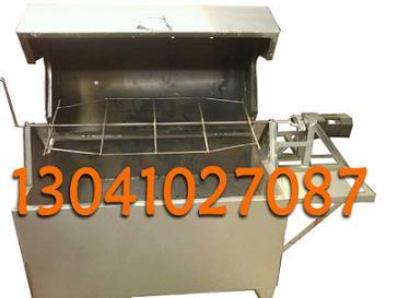 烤羊腿炉子|木炭烤羊排设备|自动旋转烤羊炉|烤羊腿设备