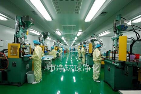 深圳广州惠州医疗器械车间设计装修