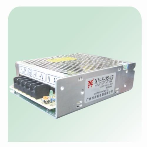 厂家供应12V35W单组输出铁壳开关电源 LED灯带电源
