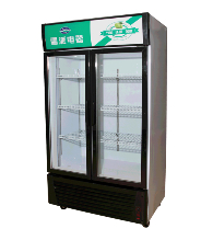 双门展示柜 展示冷柜 超市展示柜