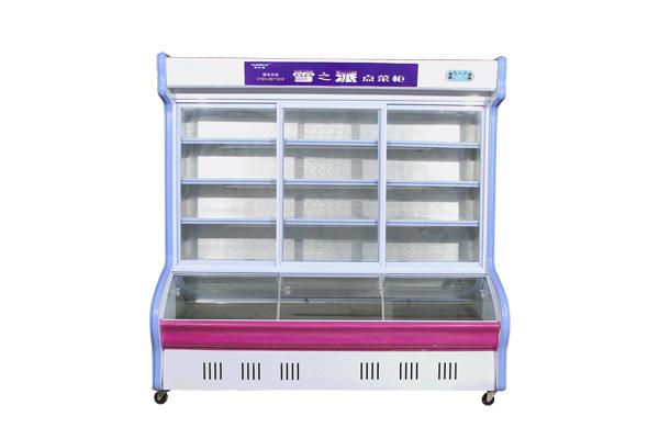 供应雪派三开门展示柜冷柜