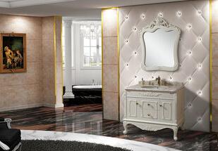 2133-100 热销爆款 家居整体欧式浴室柜