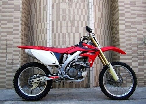 本田crf450r越野摩托车全新原装进口