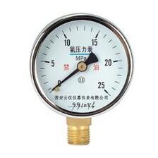 O2氧气压力表测量表