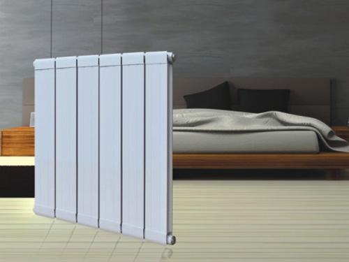 天津铜铝散热器厂家  132x60铜钢铝复合散热器