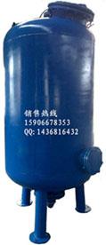 杭州专用鱼池水碳钢过滤器 鱼塘水过滤器