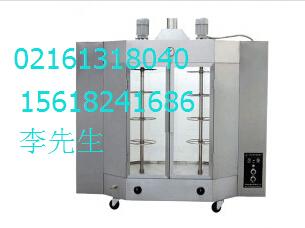 超承726烤鸡炉烤鸭炉 立式燃气旋转式烤炉 商用烤鸭机器设备