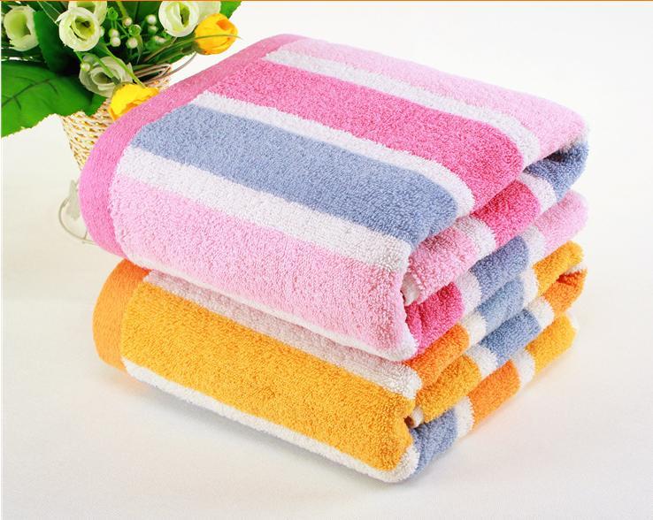 高阳毛巾批发纯棉浴巾成人加厚条纹抹胸