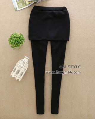假两件打底裤裙裤批发时尚流行冬装裙裤