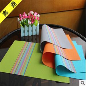 供应特斯林餐垫 欧式西餐垫 pvc餐垫 精美餐具垫系列