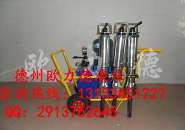 安徽省滁州安庆电动型液压劈裂机岩石分裂器开石机参数