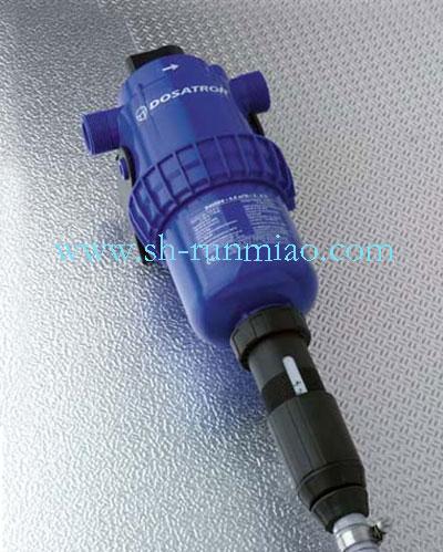 法国多寿D45RE8加药泵,水驱动加药器,耐腐蚀比例泵