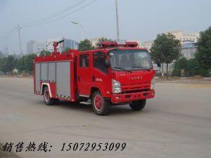 4吨五十铃泡沫消防车国四排放