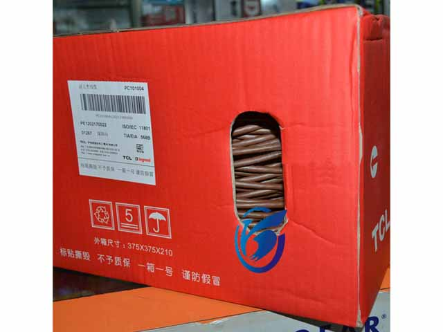 广州TCL超五类网线 0.51非屏蔽双绞线 TCL网线代理