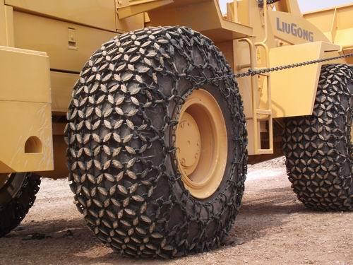 装载机轮胎保护链 压路机轮胎保护链 卡车轮胎保护链