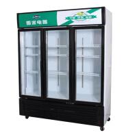 供应永祥雪派双门展示冷柜 超市展示柜