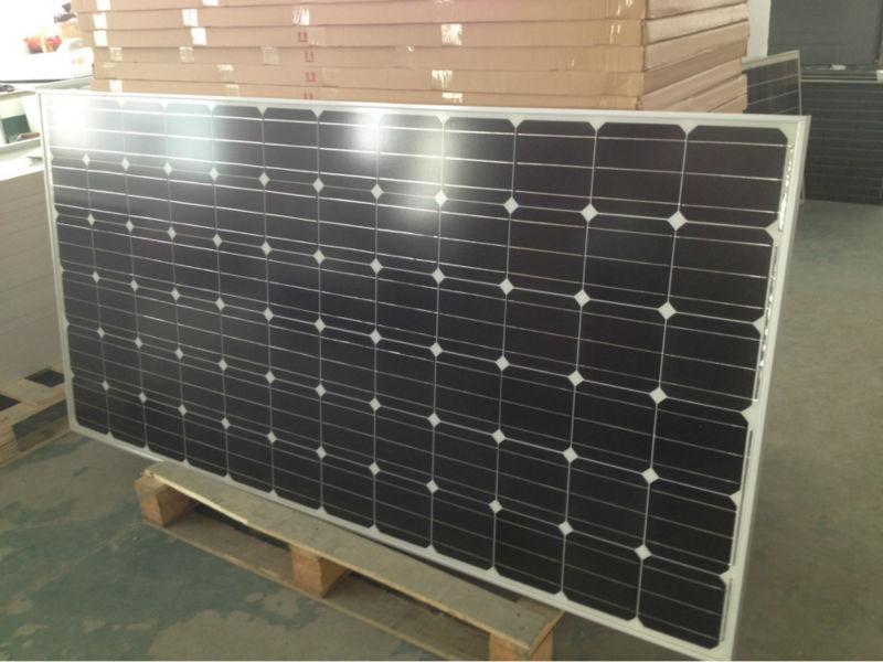 厂家批发250W单晶太阳能电池板