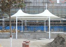 徐州景观膜结构自行车棚